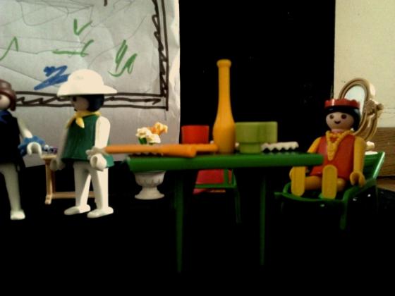 teatro, playmobile